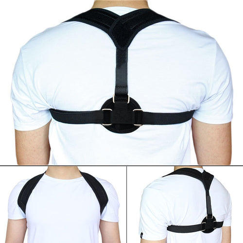 New Posture Corrector Shoulder Bandage Corset Back Orthopedic Brace Scoliosis Back Support Belt for Man Woman - winningway