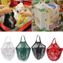 Load image into Gallery viewer, Shopping Bag Reusable Grocery Bags Beach Bags Mesh Bag - winningway