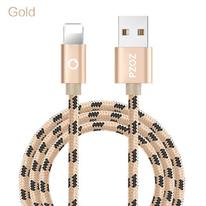 PZOZ usb cable for iphone cable Xs max Xr X 8 7 6 plus 6s 5 s plus ipad mini fast charging cables mobile phone charger cord data - winningway