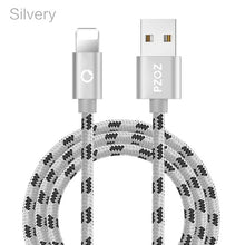 Load image into Gallery viewer, PZOZ usb cable for iphone cable Xs max Xr X 8 7 6 plus 6s 5 s plus ipad mini fast charging cables mobile phone charger cord data - winningway
