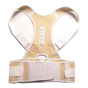 Magnetic Posture Corrector Neoprene Back Corset Brace Straightener Shoulder Back Belt Spine Support Belt - winningway
