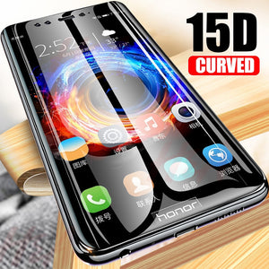 H&A 15D Protective tempered glass for Huawei P30 Lite P30 Pro P10 Lite P10 Plus glass screen protector Honor 9 Lite 10 glass - winningway