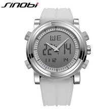 Load image into Gallery viewer, SINOBI Men's Digital Watch Men Chronograph Wrist Watches Waterproof Geneva Quartz Sports Running - winningway
