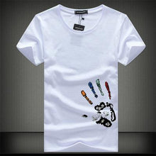 Load image into Gallery viewer, SWENEARO Men T-Shirts Plus Size 5XL 4XL Tee Shirt Homme Summer Short Sleeve Men's T Shirts Male TShirts Camiseta Tshirt Homme - winningway