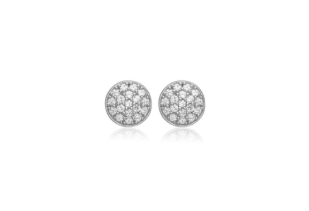 Earrings Sacile with white zirconia