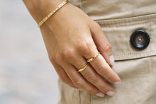 Load image into Gallery viewer, Ring Cetara Pianura - 18k gold plated