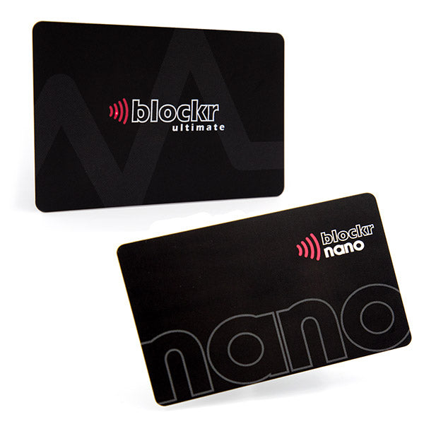blockr ultimate and blockr nano credit card protectors