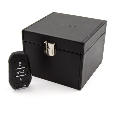 Keyblockr box in black PU leather