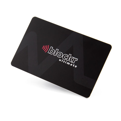Blockr Ultimate RFID blocking card with LED