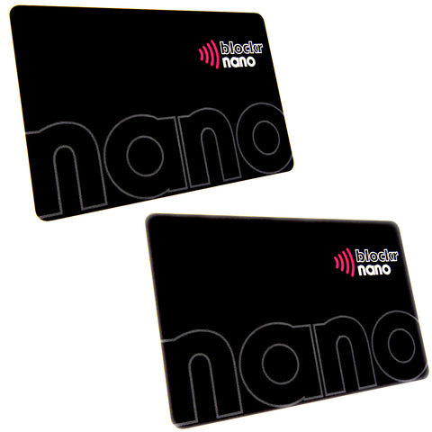 Blockr Nano RFID blocking card twin pack