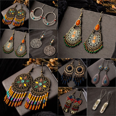 Vintage Bohemian Earrings Super Deal