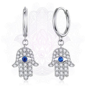 Hamsa Hand Earrings