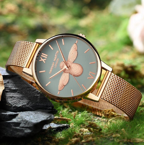 Beautiful Bee Ladies Watches