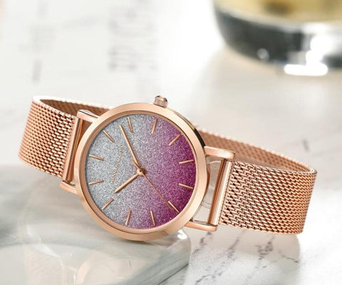 Elegant Ombre Shimmer Watches