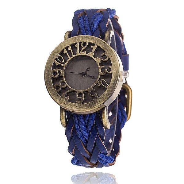 Leather Braided Watches