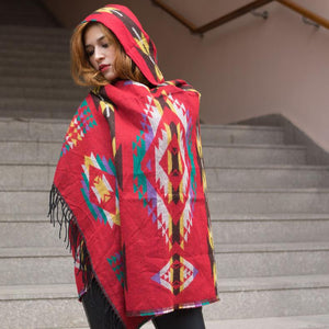 Bohemian Hooded Shawls