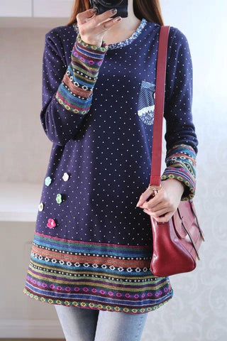 Polka Dot Boho Jumpers