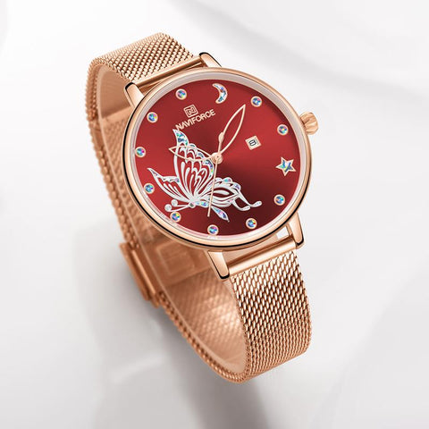 Cute Butterfly Ladies Watches
