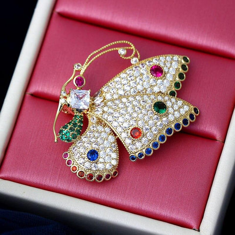 Elegant Butterfly Brooches