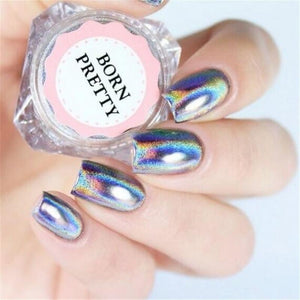 Rainbow Nail Art Powder