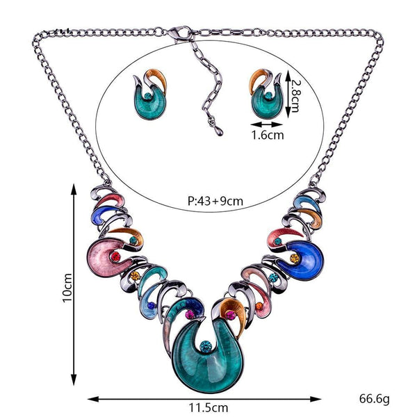 Wild Swirl Jewelry Sets