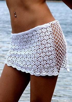 White Laced Cover Skirt