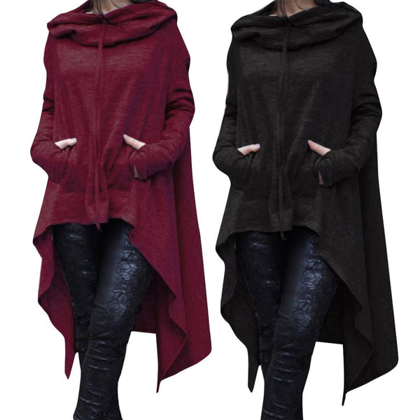 Ruffle Tailed Hoodies
