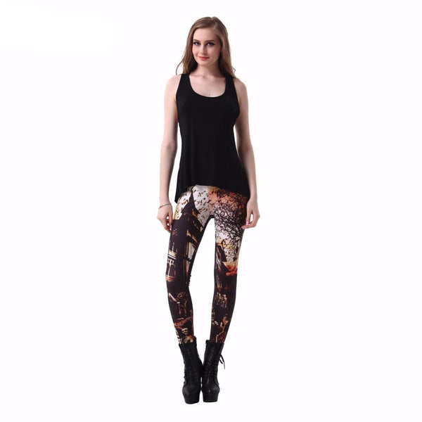 Haunted House Leggings