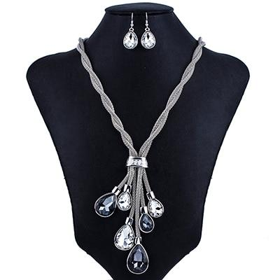Tear Drop Tassel Jewelry Sets