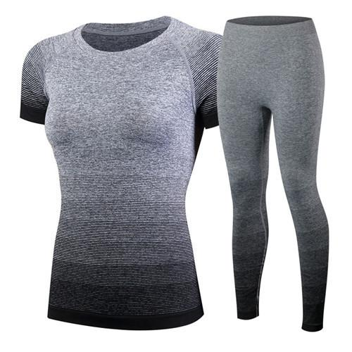 Running Top & Leggings with Breathable Technology