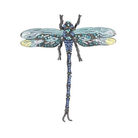 Shimmer Dragonfly Brooches