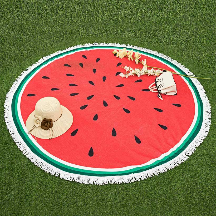 Water Melon Microfiber Beach Towel