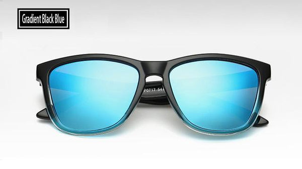 Gradient Coating Mirror Sunglasses