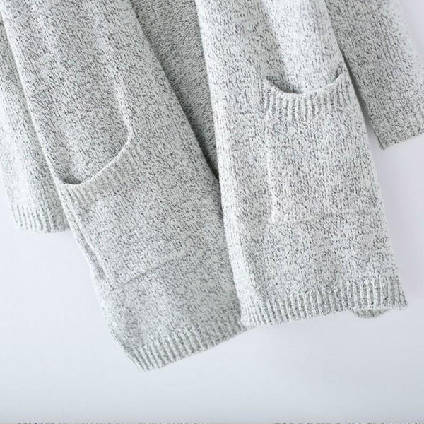 Sleek Knitted Cardigans