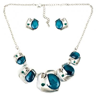 Stone Swirl Jewelry Sets