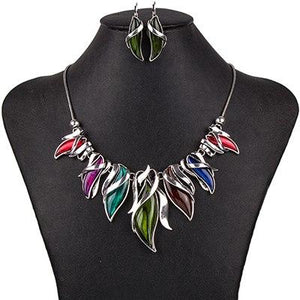 Magnificent Leaf Mane Jewelry Sets