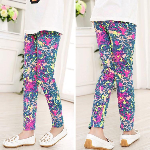 Paint Splash Kids Leggings