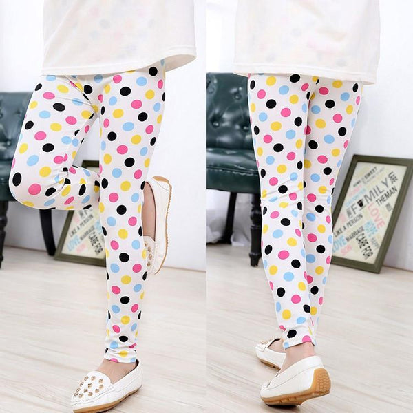 Polka Dot Princess Kids Leggings