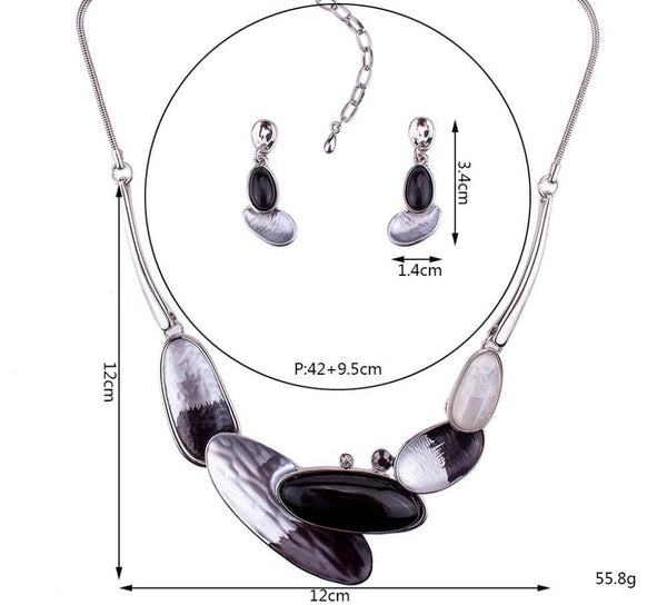 Skipping Pebble Jewelry Sets