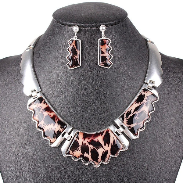 Leopard Wave Jewelry Set