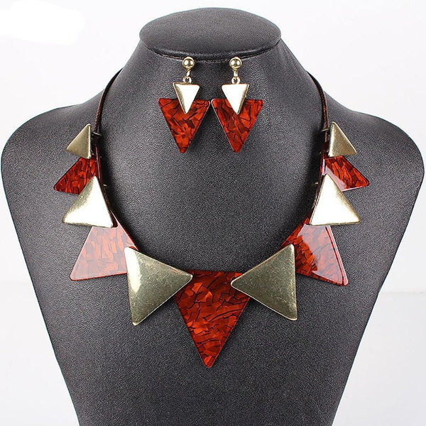 Tribal Spike Jewelry Sets