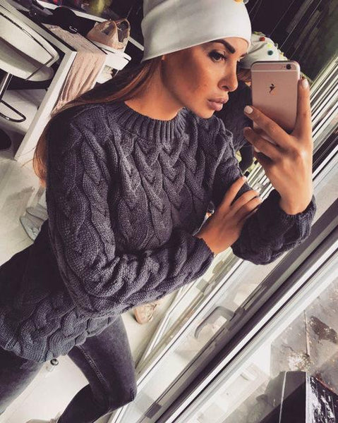 Knitted Style Winter Jumpers