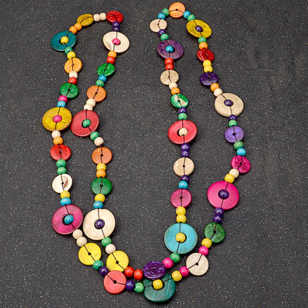 Boho Rainbow Party Necklaces