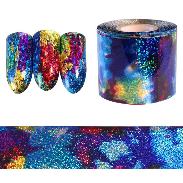 Galaxy Nail Art Holographic Foil