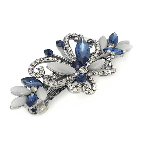 Crystal Butterfly Hair Clips