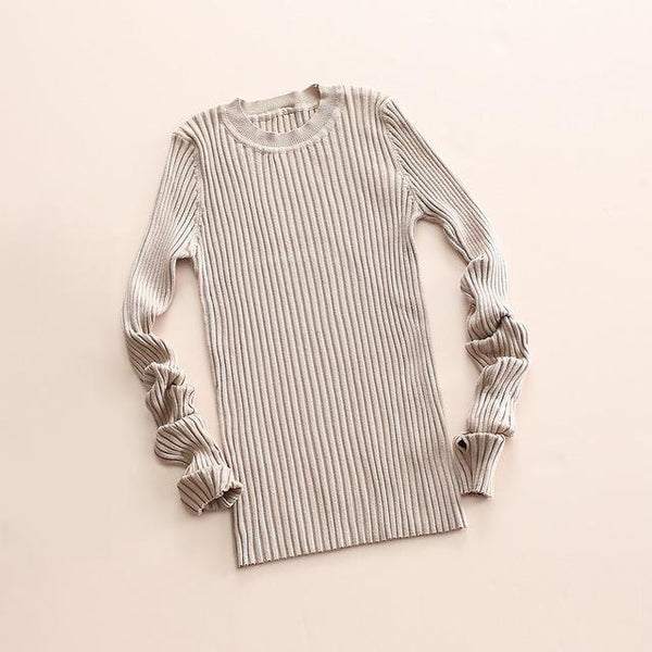 Knitted Ribbed Jumpers