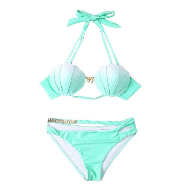 Mermaid Shell Two Piece Bikini