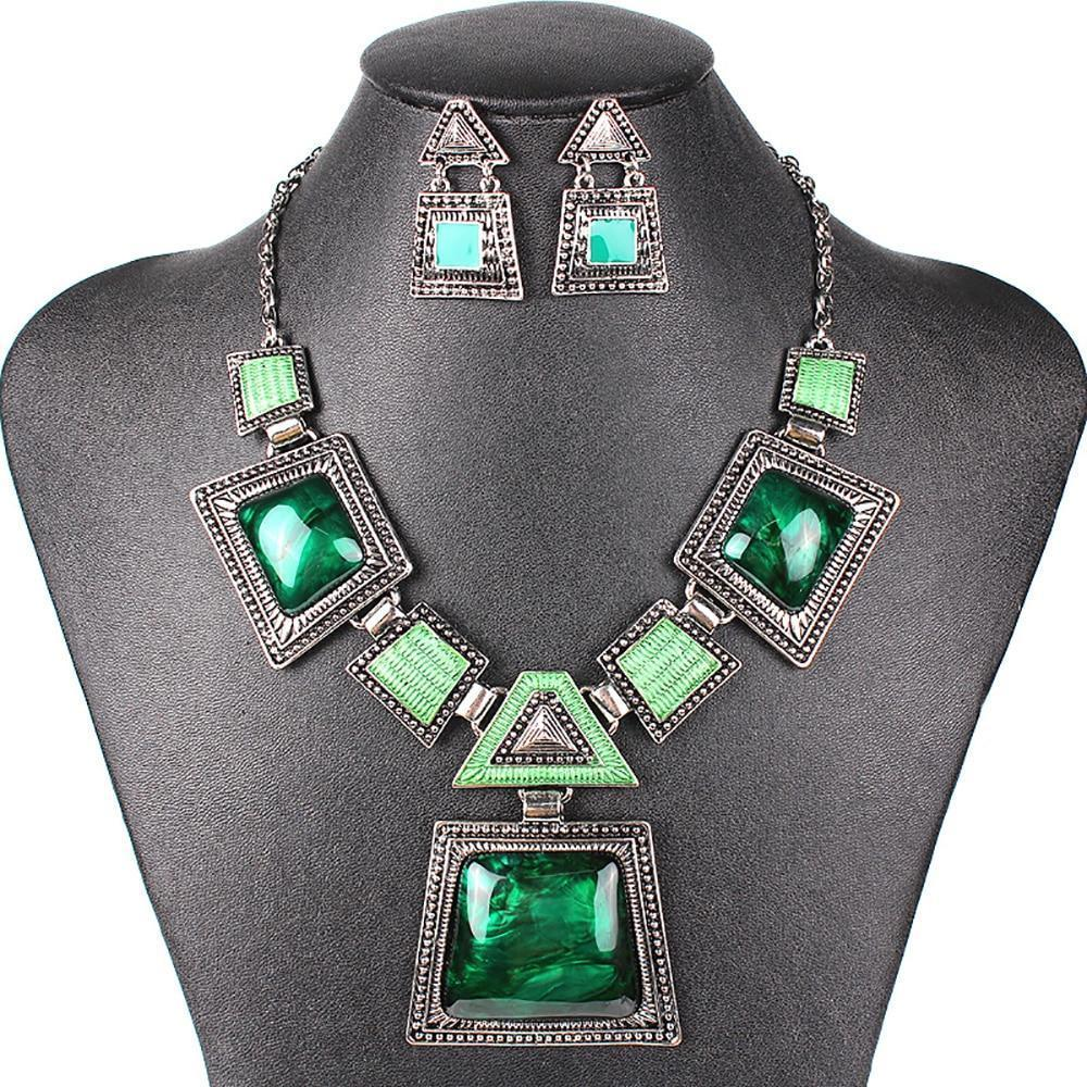 Antique Aztec Jewelry Sets