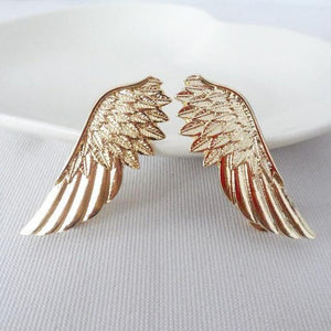 Angel Wings Collar Brooches