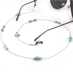 Turquoise Vintage Eyeglass Chain